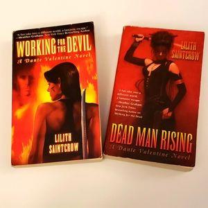 Lilith Saintcrow, 2 book bundle